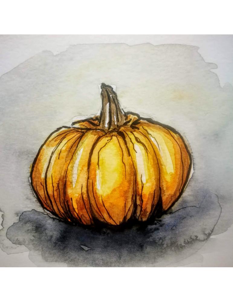 Kartiņa-Akvareļa miniatūra