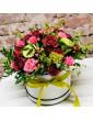 Box with roses Karmen