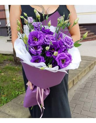 Blue Eustoma Bouquet