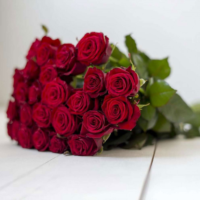 Красные розы  (40cm)