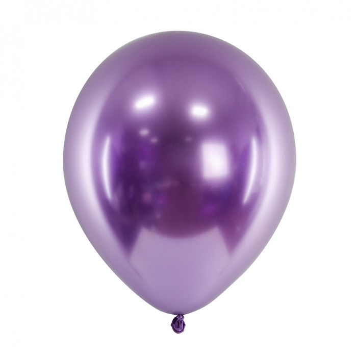 Metalizēts (chrome) balons, violets (30 cm)