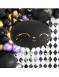 SMILING BLACK CAT FOIL BALLOON