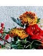 Ziedu pušķis ar amarilli