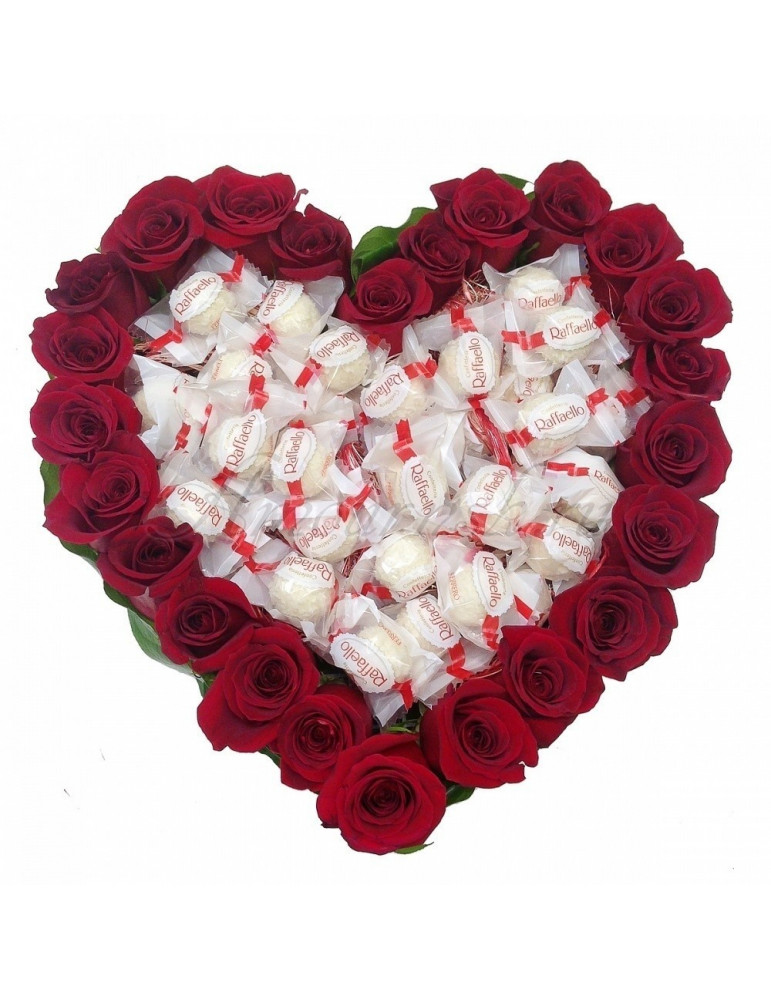 Rožu sirds ar Rafaello