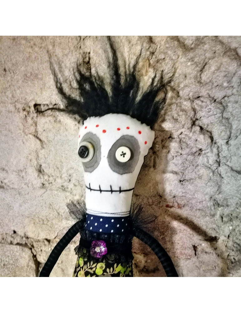 Ooak Anxiety art doll