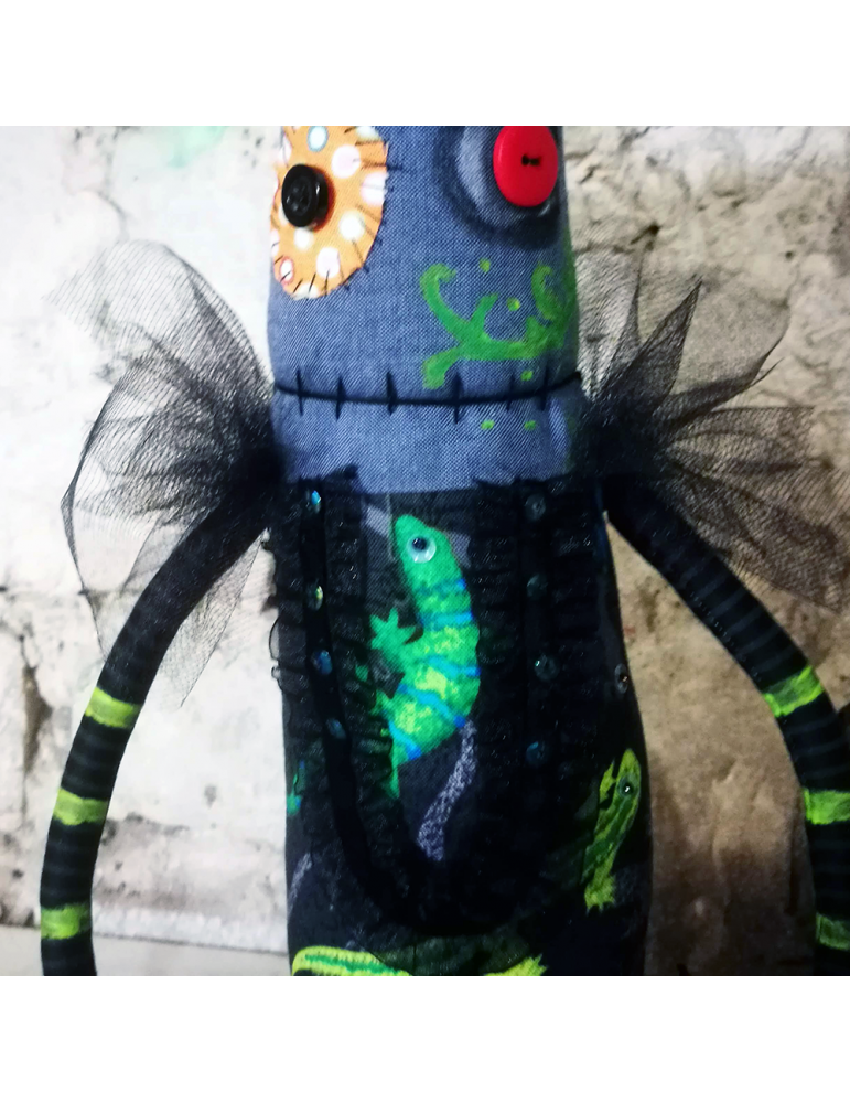 Ooak Anxiety art doll