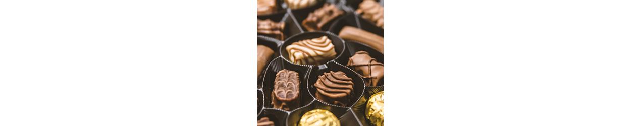 Konfektes un šokolāde