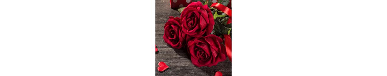 Rozes Valentīndienā