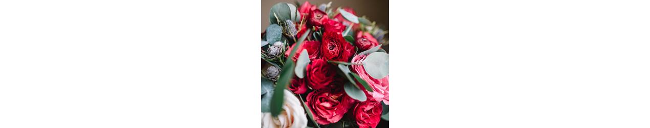 Ziedu pušķi Valentīndienai