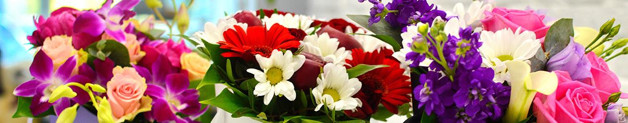 Коробки цветов